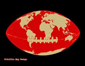 Photo: World football design