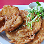The Big Chicken Schnitzel & Fries