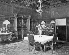 Photo: 1903 the other wall of the NY dining room.