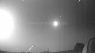Vídeo compartido por los astrónomos.