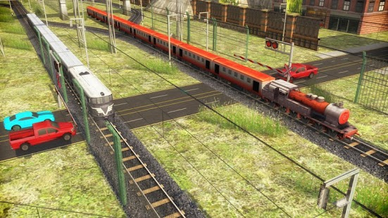Indian Train Racing Games 3D - Multiplayer - náhled