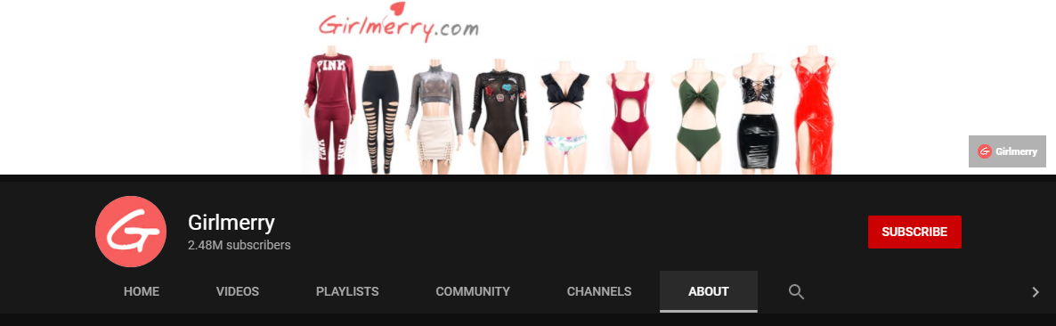 Girlmerry YouTube Channel