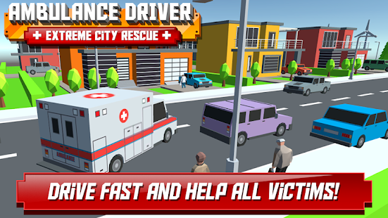 Ambulance Driver – Extreme city rescue 2