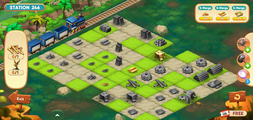 Merge train town! (Merge Games) 1.1.19 screenshots 7
