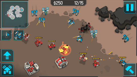 MechCom 3 – 3D RTS Mod Apk Download For Android and Iphone 5