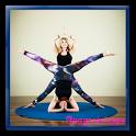 easy yoga poses icon