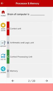 Download Computer Basics MCQs For PC Windows and Mac apk screenshot 3