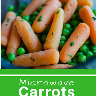 Microwave Carrots and Peas #SundaySupper.