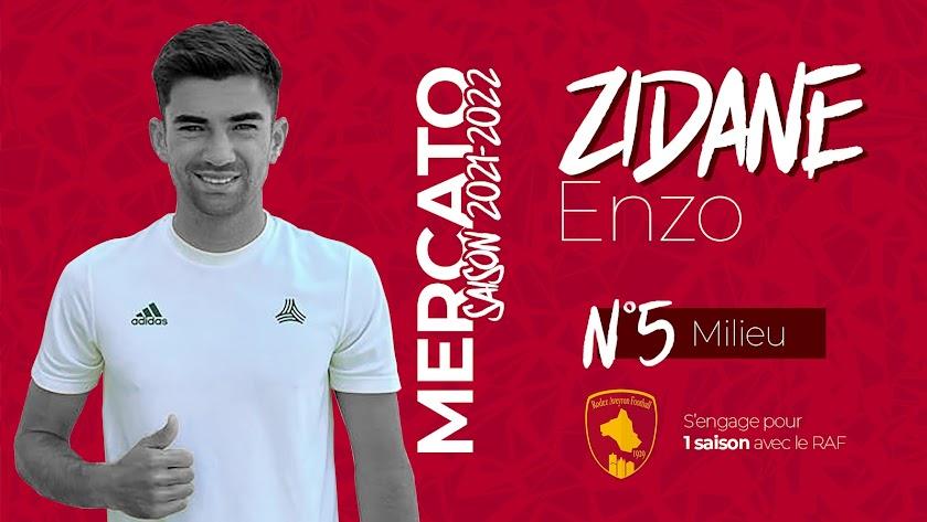 Enzo Zidane jugará en Francia la próxima temporada.