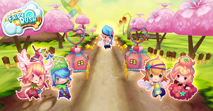 Fairy Surfer: Fly To Magicland - screenshot