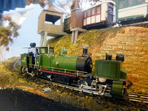 Photo: 023 The D&HR Garratt is another superb model built by the late Gert Jensen .