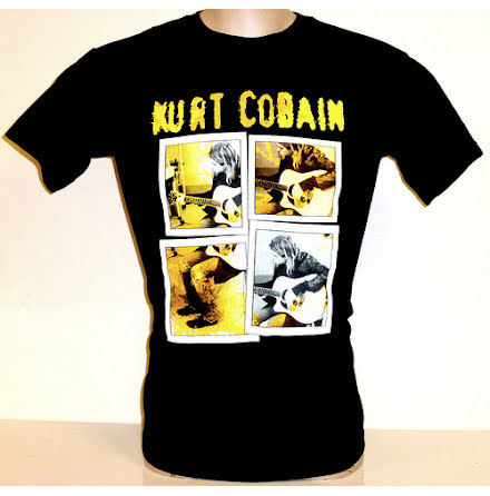 T-Shirt - Kurt Cobain - Collage