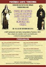 Festa em Louvor a Santa Edwiges e São Pelegrino