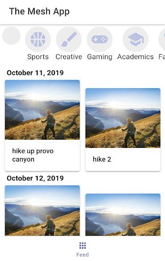 The Mesh App screenshot 1