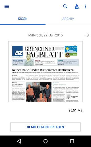 az Grenchner Tagblatt E-Paper