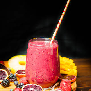Mixed Berries Smoothie.