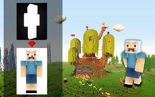 Skins cartoons for Minecraft