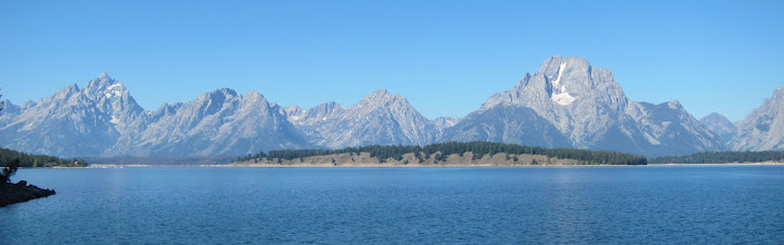 Photo: Tetons over Jackson Lake