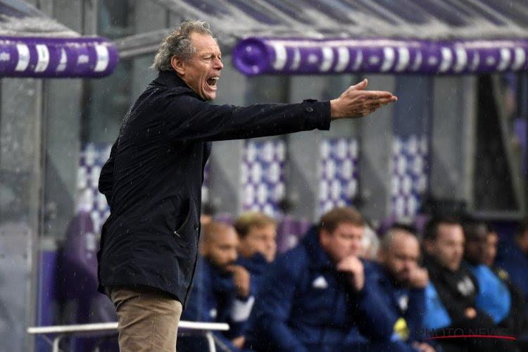 "Preud'homme : ""Anderlecht peut redorer son blason"""