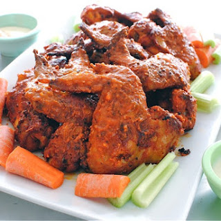 Baked Bourbon Buffalo Wings Recipe