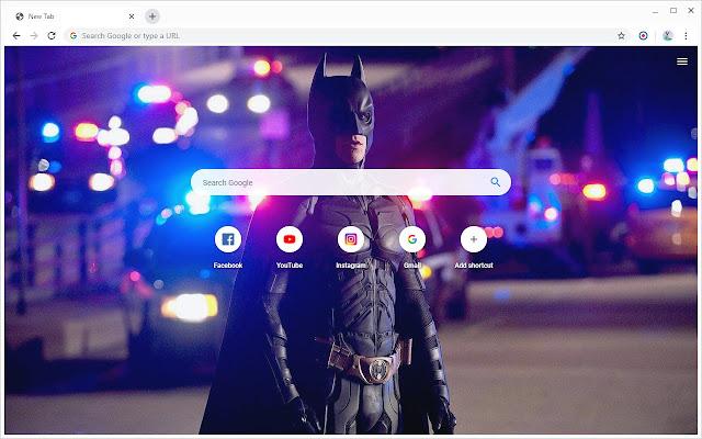 Batman Wallpapers New Tab