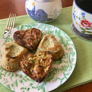 Zucchini Fritter Muffins.