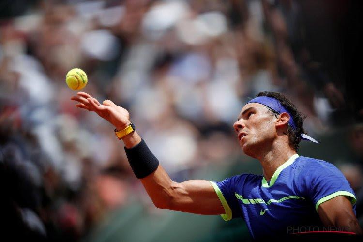 Indrukwekkende Nadal gunt 17e reekshoofd amper 5 spelletjes op weg naar 10e triomf in Parijs
