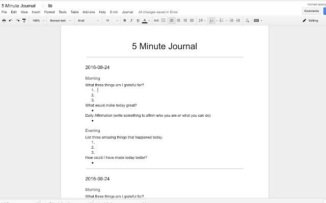 meeting minutes template google docs