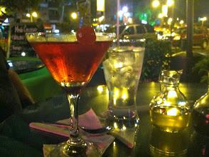 Photo: Starting the trip with a celebratory tone in Quito, Ecuador.