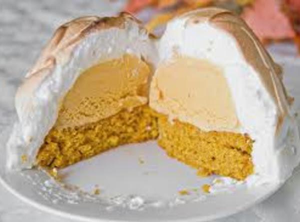 Pumpkin Baked Alaska Recipe