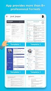 Free Resume Builder – Professional CV Maker (MOD, Pro) v1.3 2