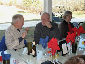 Photo: 2-18-2012. Winter luncheon at Sandwich Hollows Clubhouse Restaurant. Good conversation was had by all.