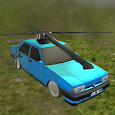 Flying Car : Helicopter Car 3D