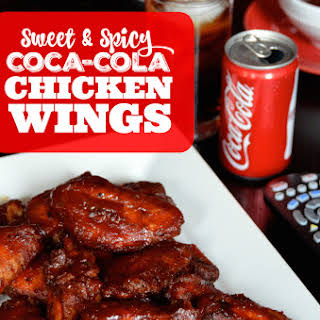 Sweet & Spicy Coca-Cola Chicken Wings.
