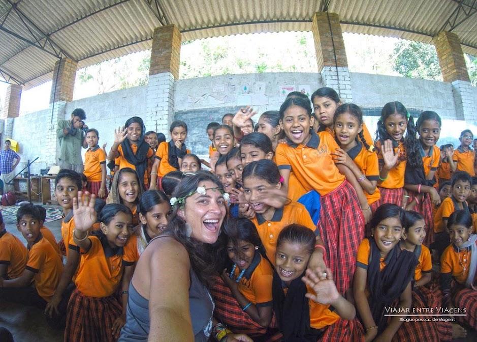 Selfies que retratam momentos extraordinários em Querala | Índia