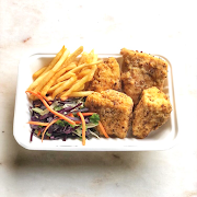 Fried Chickun Combo (4 Pieces)