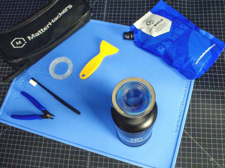 Find essentials tools you'll need for a smooth resin 3D printing experience and more with MatterHackers Resin 3D Printing Tool Kit.