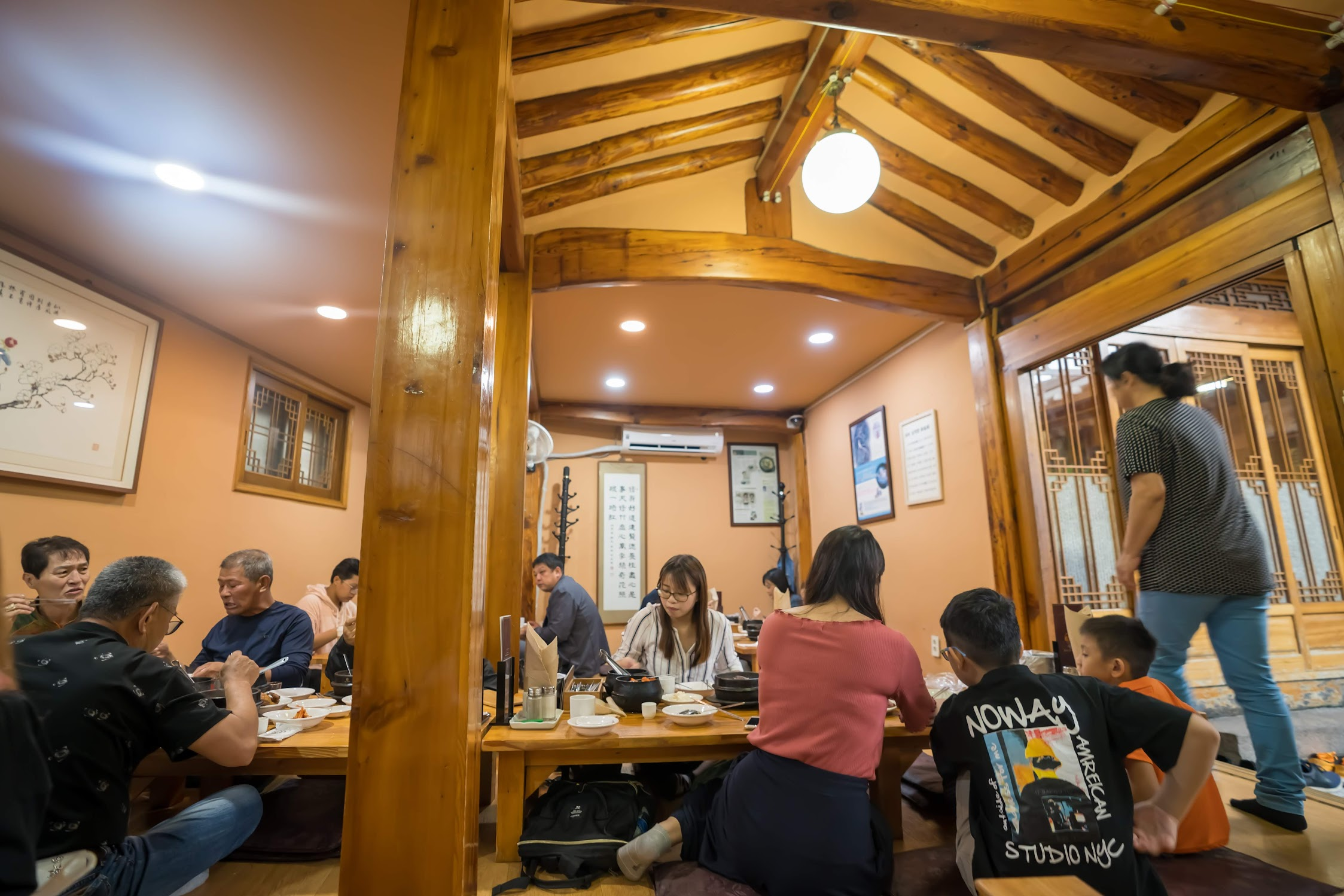 ソウル 土俗村参鶏湯1