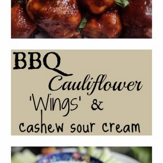 BBQ Cauliflower Wings (vegan)