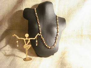 Photo: <BEREHYNYA> {Great Goddess Protectress} unique one-of-a-kind statement jewellery by Luba Bilash ART & ADORNMENT  Freshwater pearls, glass, 14k gold vermeil SOLD/ПРОДАНИЙ  http://www.wikihow.com/Clean-A-Pearl-Necklace