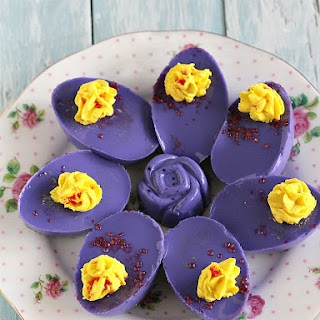 Jello Sweet Deviled Eggs