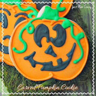 Carved Pumpkin Cookie Recipe!