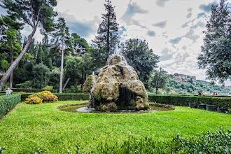 """Photo: """"Fontane Rustiche dette 'Mete'"""" fountains in Villa d'Este in Tivoli, Lazio, Italy"""