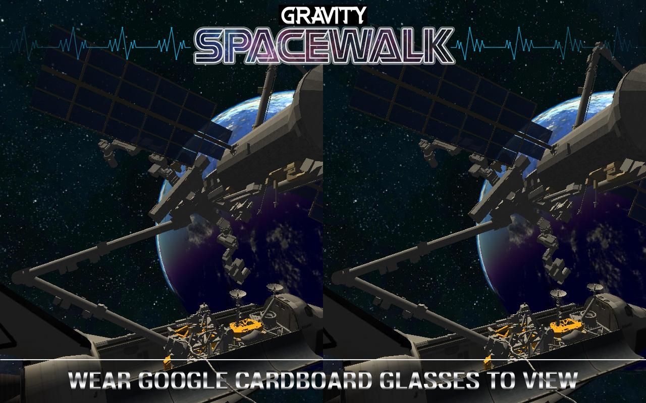 Gravity Space Walk VR- screenshot