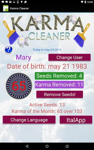 Karma Cleaner - 業力清潔
