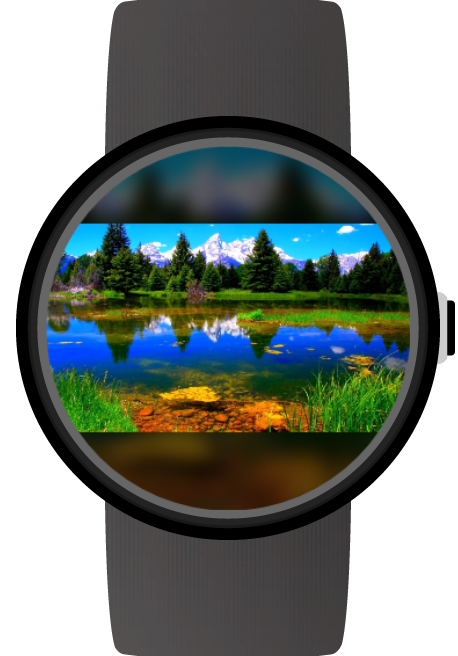 Photo Gallery for Android Wear- screenshot