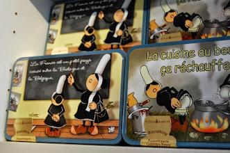 Photo: BRETANYA 2013. POINTE FINISTÈRE. LE CONQUET ( Konk-Leon ), humor bretó...
