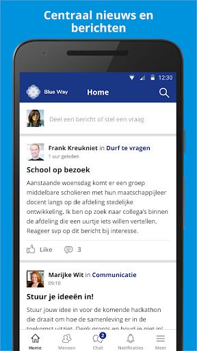 Blue way screenshot 1