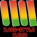 Bass-style radio icon