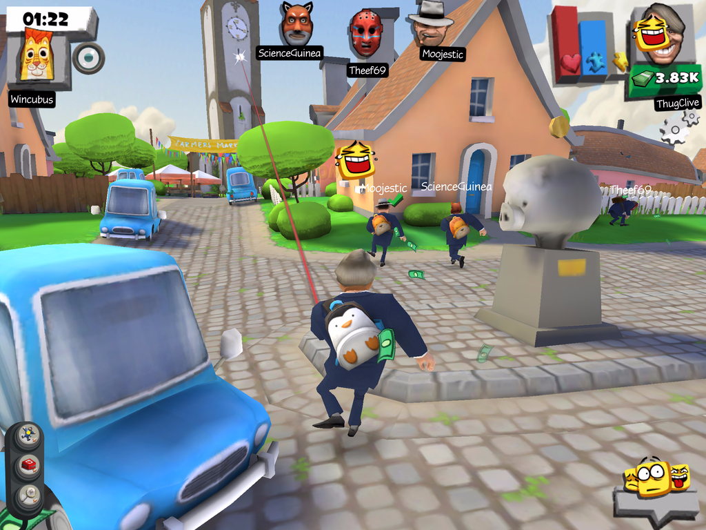Snipers vs Thieves- screenshot